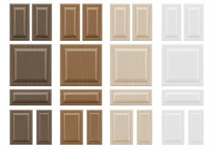 Cabinet Door Options And Textures