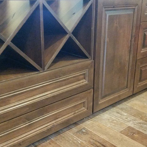 European wooden cabinets